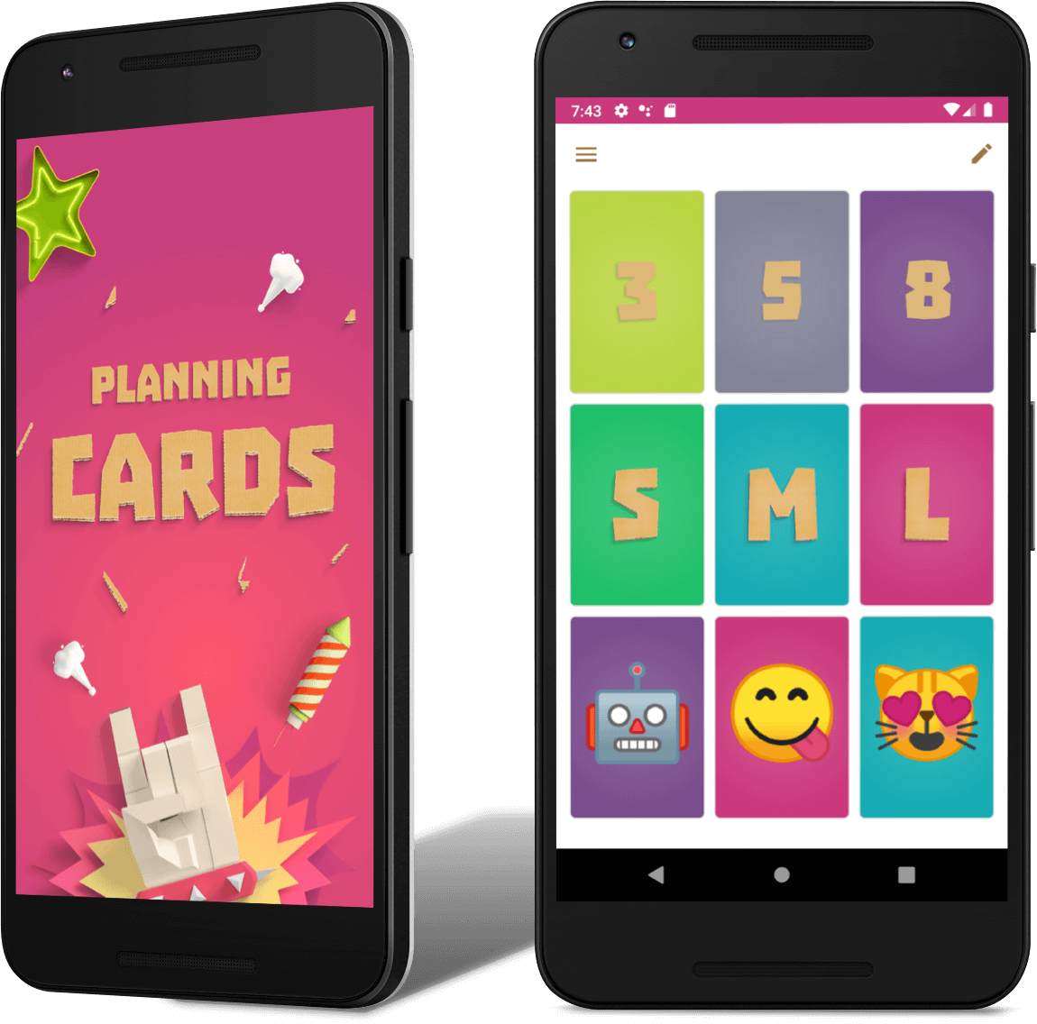 Preview of App Planning Cards